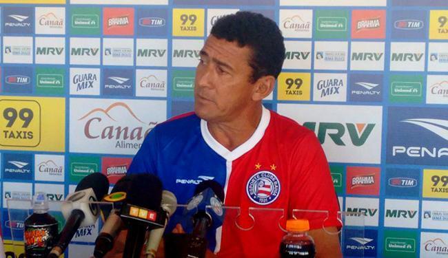 Treinador do sub-20, Aroldo Moreira será o comandante diante do Náutico - Foto: Divulgação l E.C. Bahia