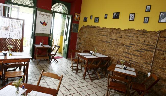 O restaurante fica num casarão no Santo Antônio - Foto: Fernando Vivas | Ag. A TARDE