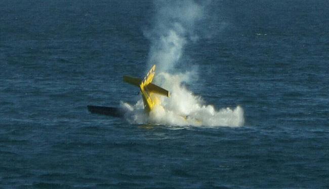 A Força Aérea Brasileira investiga as possíveis causas do acidente - Foto: Cidadão Repórter | Via Whatsapp | Observatório da Cidade