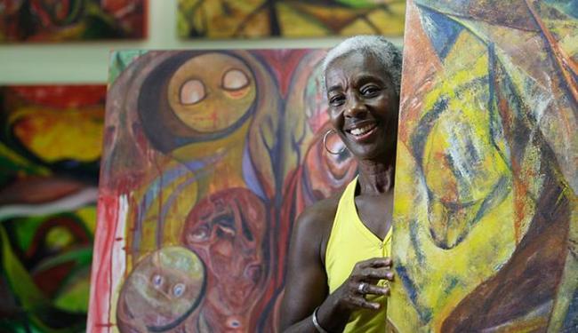 Ayeola Moore vai expor suas telas a partir de sexta, no Mafro - Foto: Raul Spinassé | Ag. A TARDE