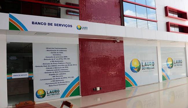 Além dos serviços oferecidos pelo Banco, estarão disponíveis os da Secretaria da Fazenda - Foto: Divulgação | Prefeitura de Lauro de Freitas