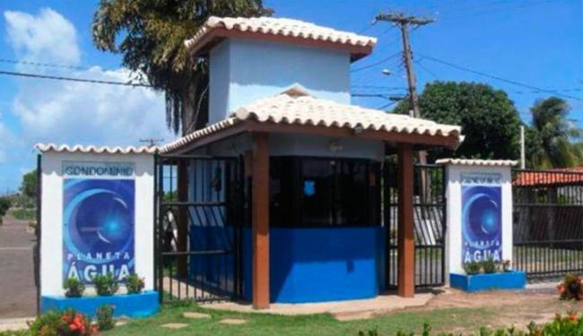 Crime aconteceu dentro do condomínio Planeta Água - Foto: Reprodução   OLX