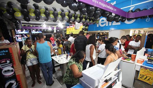 Preços dos eletroeletrônicos não foram dos mais convidativos - Foto: Edilson Lima l Ag. A TARDE