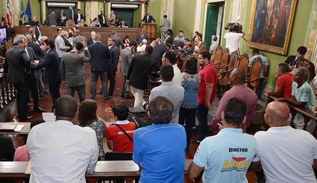 Debates foram intensos na sessão desta terça-feira, 17 - Foto: Antônio Queirós l Ascom CMS