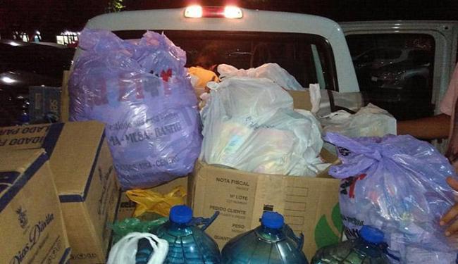 Duas remessas de donativos arrecadados em Salvador foram feitas até esta quarta-feira - Foto: Marília Leite l Divulgação
