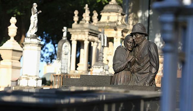 Cemitério da Federação tem Circuito Cultural garantido, com agendamento prévio e ao preço de R$ 5 - Foto: Joá Souza l Ag. A TARDE