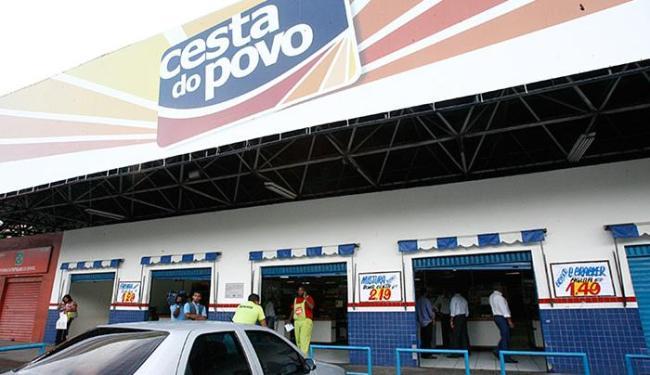 Rede Cesta do Povo conta hoje com 251 lojas, espalhadas por 229 municípios - Foto: Arestides Baptista l Ag. A TARDE l 09.01.2012