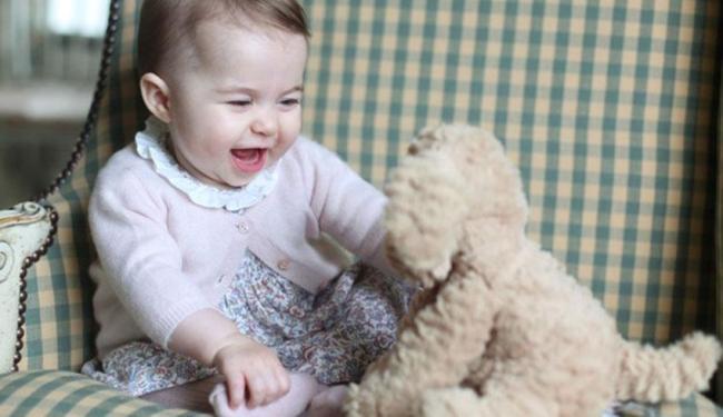 A foto foi feita pela própria Kate Middleton - Foto: Reprodução | Instagram