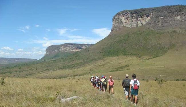 Chapada Diamantina é um dos locais que vai receber os turistas que chegam à Bahia - Foto: Acampamento Verde | Divulgação