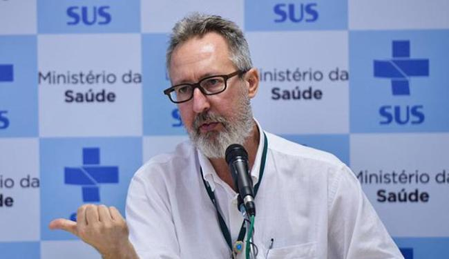 Diretor do MS divulgou boletim epidemiológico sobre os casos de microcefalia no país - Foto: Marcello Casal Jr l Agência Brasil
