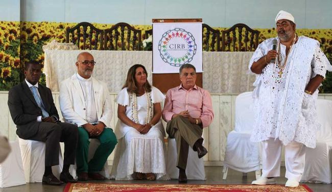 Lançamento do Comitê Interreligioso da Bahia (CIRB) - Foto: Edilson Lima | Ag. A TARDE