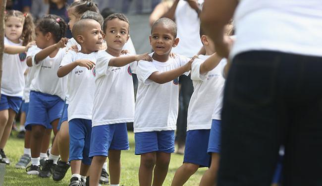 Mês passado, ACM Neto inaugurou a escola Professora Nossa Senhora das Graças - Foto: Joá Souza | Ag. A TARDE
