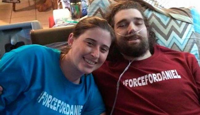 Última foto que ele tirou ao lado da mulher, Ashley Fleetwood - Foto: Reprodução | Facebook