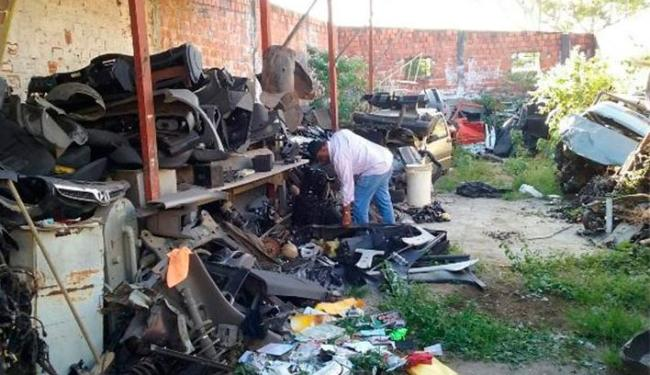 Dono de desmanche tinha loja de autopeças no mesmo bairro, em Feira de Santana - Foto: Reprodução | Acorda Cidade