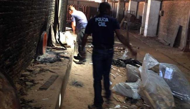 Drogas, entre maconha, crack e cocaína foram incineradas - Foto: Ascom   Polícia Civil