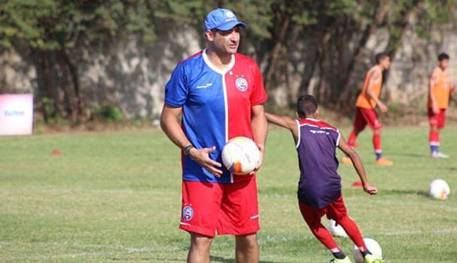 O ex-goleiro atua na divisão de base do clube - Foto: Divulgação | E.C. Bahia