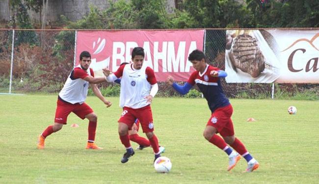 Elenco tricolor finalizou sua preparação para duelo diante do Santa Cruz - Foto: Divulgação | E.C. Bahia