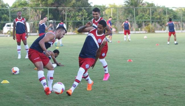 Elenco tricolor segue preparação para o jogo na Fonte Nova - Foto: Adilton Venegeroles | Ag. A TARDE