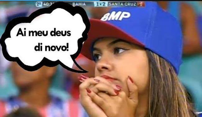 Torcedores do Vitória não perdoaram a derrota do Bahia e fizeram a festa nas redes sociais - Foto: Reprodução   Facebook