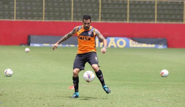 Escudero não tem lesão na coxa, mas ainda é dúvida - Foto: Marco Aurélio Martins | Ag. A TARDE