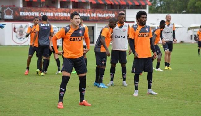 Time ainda segue sem o meia Escudero como uma das opções do técnico Vagner Mancini - Foto: Francisco Galvão | ECV | Divulgação