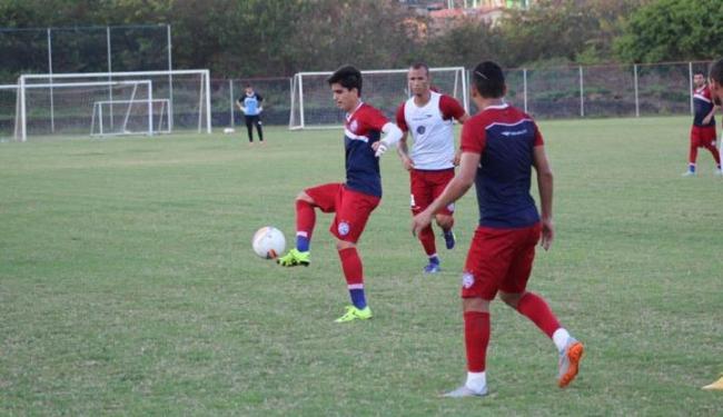 Jogadores do Bahia durante treinamento no Fazendão - Foto: Divulgação | E.C. Bahia