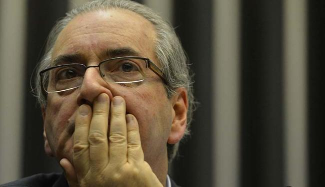 Eduardo Cunha orientou seus aliados a manterem a calma e deixarem seguir a sessão de hoje - Foto: Valter Campanato   Agência Brasil