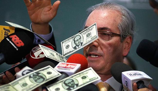 As notas tinham estampado o rosto do presidente da Câmara - Foto: Dida Sampaio l Estadão Conteúdo