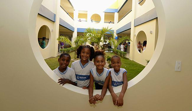 Escola Pe. Manuel Correia de Souza, em Mussurunga I - Foto: Valter Pontes l Agecom