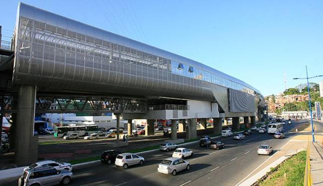Com 6.140 m² de área, estação chama a atenção por traços arquitetônicos futuristas - Foto: Adilton Venegeroles l Ag. A TARDE