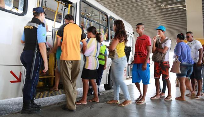 Com a mudança, usuários devem acessar ônibus na plataforma C - Foto: Joá Souza | Ag. A TARDE