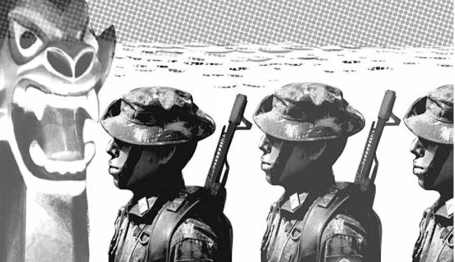 Exército e Rio São Francisco - Foto: Editoria de Arte | Ag. A TARDE