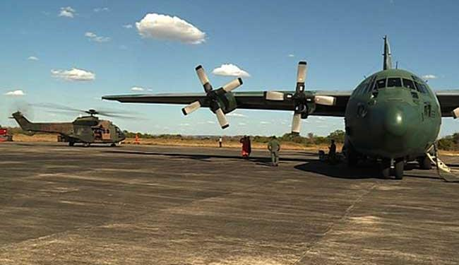 Avião carrega mais de 12 mil litros de água - Foto: Divulgação   FAB