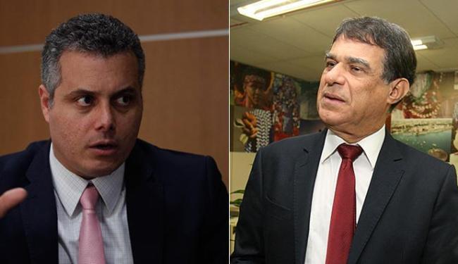 Fabiano Mota (E) e José Nélis são apontados como 'azarões' na corrida pelo comando da instituição - Foto: Lúcio Távora e Adilton Venegeroles l Ag. A TARDE