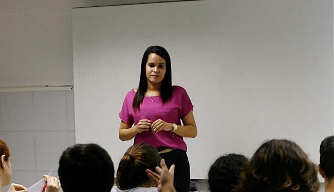 Flávia Barreto, pedagoga: 'O concurso é a possibilidade de provar as potencialidades dos alunos' - Foto: Mila Cordeiro l Ag. A TARDE
