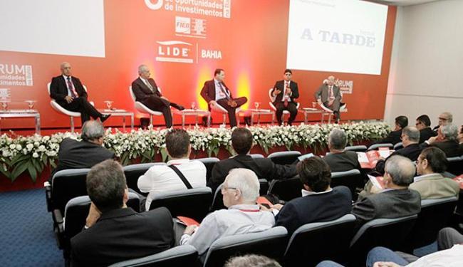 O 3º Fórum de Oportunidades de Investimentos na Bahia reuniu dezenas de empresários na Fieb - Foto: Luciano da Matta l Ag. A TARDE