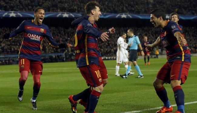 O argentino Lionel Messi, lidera a lista de artilheiros com 43 gols no ano pelo Barcelona - Foto: Albert Gea | Agência Reuters