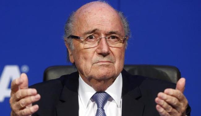 Blatter precisou dar entrada no hospital, que não divulgou o motivo da internação - Foto: Arnd Wiegmann | Agência-Reuters