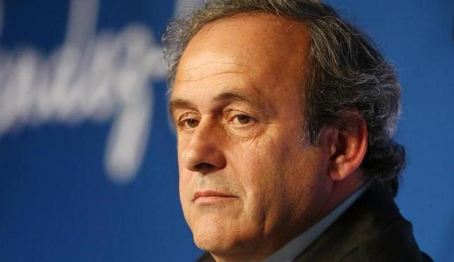 Atualmente, Platini enfrenta uma suspensão de 90 dias por acusações de corrupção - Foto: Charles Platiau | Agência Reuters