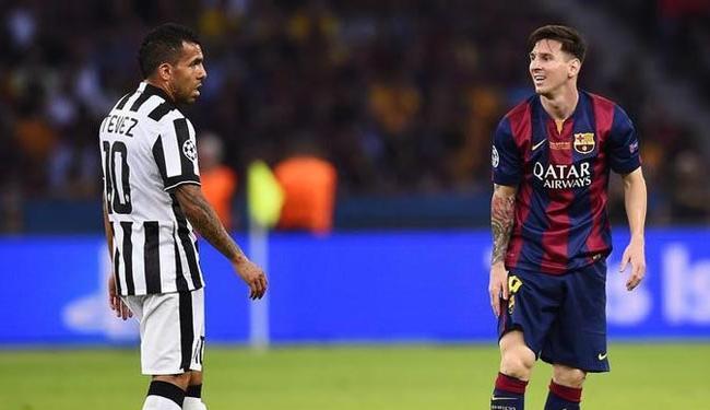 Lionel Messi e Carlos Tevez, que também figuram neste Top 10 - Foto: Dylan Martinez | Agência Reuters
