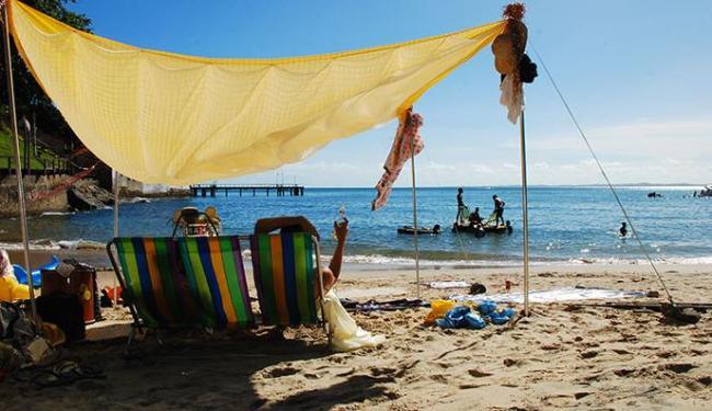 Na praia do Unhão, Caramujo e Flutuador, em 2012 - Foto: GIA | Divulgação