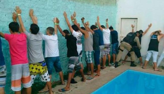 Adolescentes foram identificados e vão prestar depoimento - Foto: Divulgação   PM