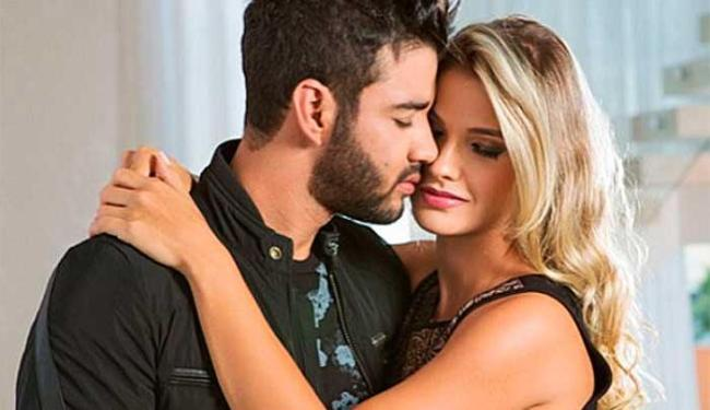 Gusttavo e Andressa reataram o noivado em outubro - Foto: Reprodução   Instagram