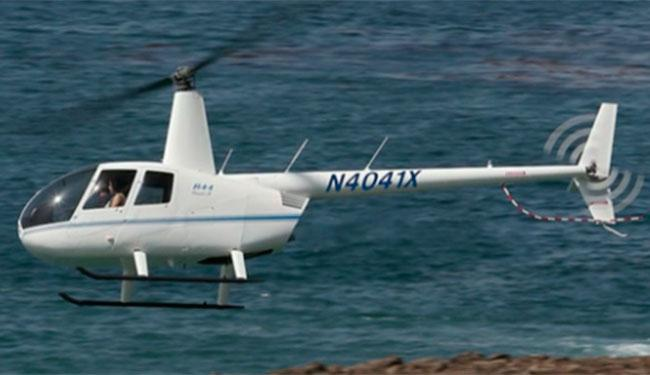 O 'papai noel' contratou o táxi aéreo da empresa Vortex alegando que faria uma surpresa de Natal - Foto: Reprodução