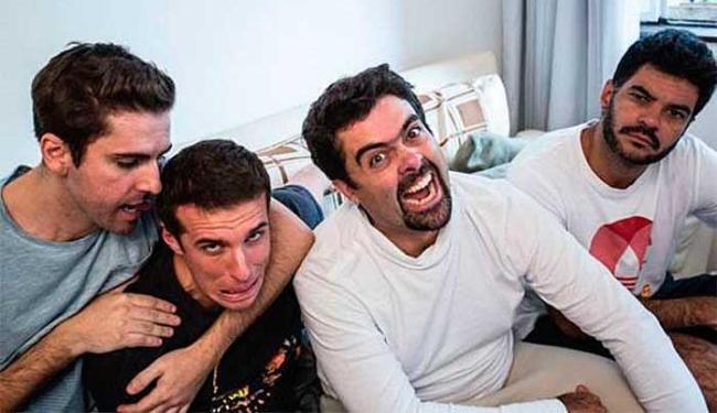 Fausto (à esquerda) com os colegas de Hermes e Renato Marco Antonio Alves - Foto: Kelly Fuzaro | Divulgação