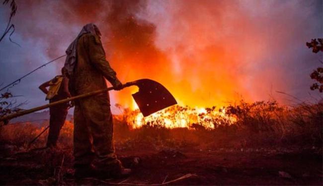 Há suspeita que incêndio é criminoso - Foto: Açony Santos | Facebook