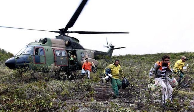 Combate continua em focos menores - Foto: Mateus Pereira | GOVBA