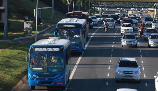 Integração com metrô será feito por outro sistema de ônibus, conforme contrato - Foto: Joá Souza l Ag. A TARDE l 27.05.2015
