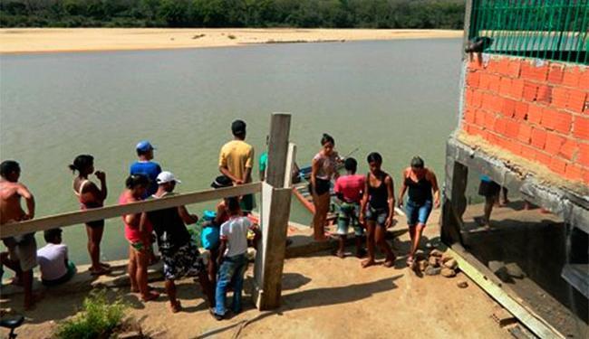Moradores da região conseguiram salvar o menino mais novo - Foto: Reprodução | Itapebi Acontece