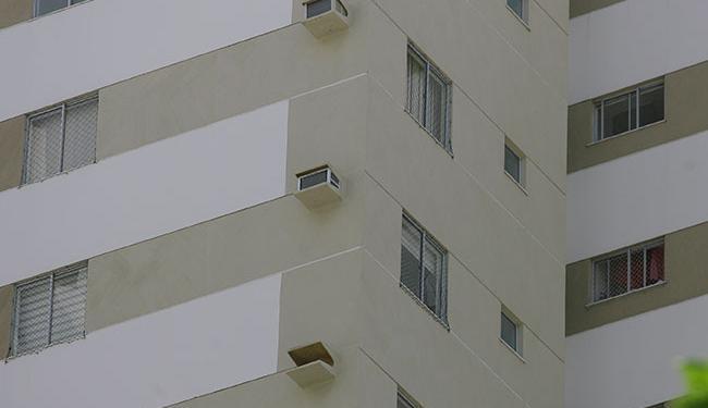 A tela de proteção do quarto do casal foi retirada na quarta para realização de teste - Foto: Edilson Lima | Ag. A TARDE